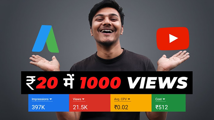 how to promote youtube videos with google adword campaign  20  1000 views