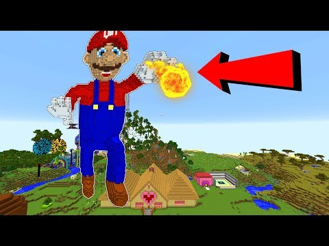 MEGA MARIO TAKES OVER MINECRAFT!!! thumbnail