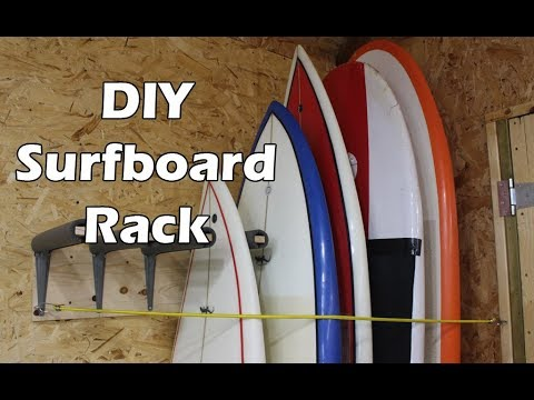 How to Make a Surfboard Rack