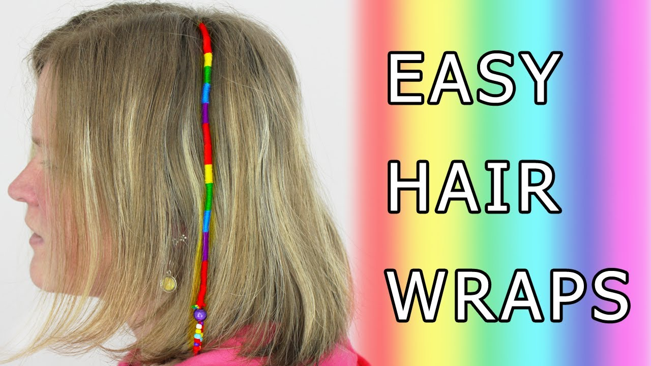 DIY Learn How to Make Hair Wrap (Wraps, Braid, Floss ...