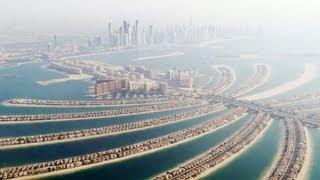 Пальма Джумейра в ОАЭ( Palm Jumeirah)(Пальма Джумейра - искусственный архипелаг, расположенный у побережья города Дубай, в Объединенных Арабских..., 2013-04-12T13:32:43.000Z)