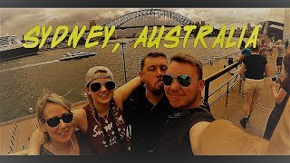 I meet up with family in Sydney, Australia