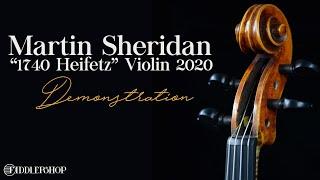 Martin Sheridan 1740 Heifetz Violin 2020