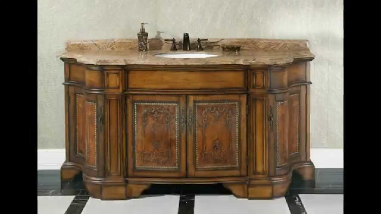 Ornate Traditional Bathroom Vanities