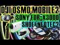 【4K】DJI OSMO MOBILE2 でSONYのアクションカメラFDR-X3000のスタビライザーとして使う六甲山ツーリング 人間エアコンEZ2レビュー NEOTEC2についてレビュー!