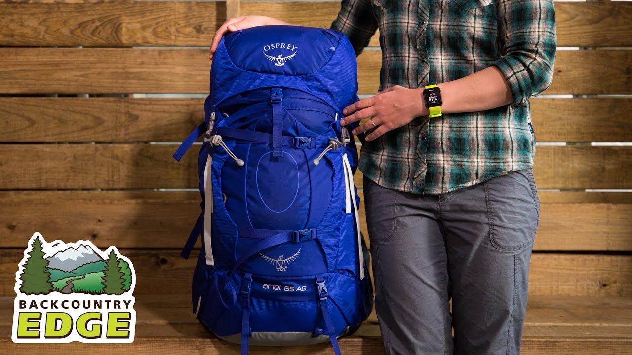 f25cbb901fd Osprey Ariel AG 65 Women s Internal Frame Backpack - YouTube