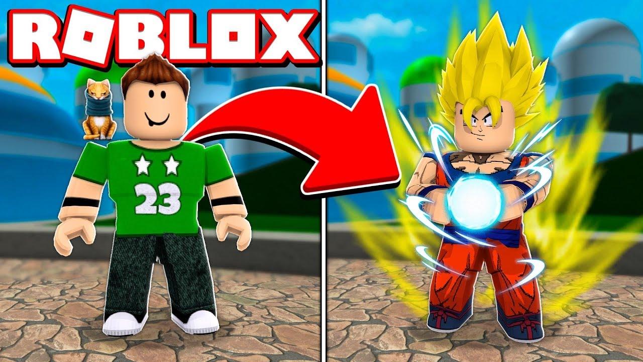 Nos Convertimos En Goku Super Saiyan En Roblox Roblox Super