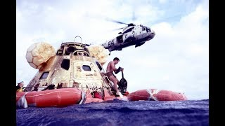 APOLLO 11 RECOVERY 16MM UNEDITED NASA POOL FOOTAGE