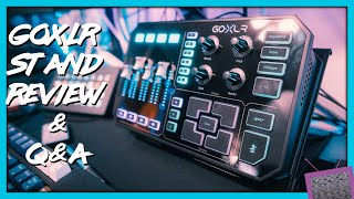 GoXLR & Mini: EVERY Question Answered! | GoXLR Desk Stand Review