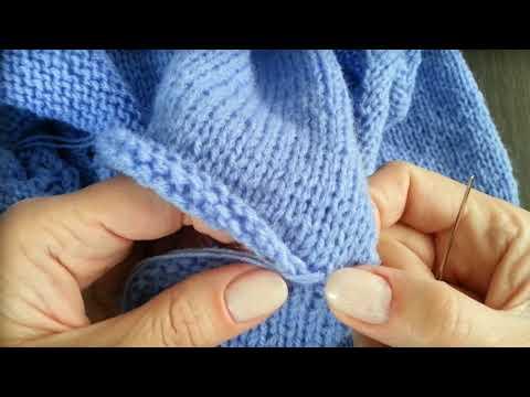 Как сшить плечевые швы