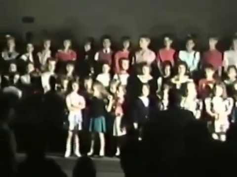 1990: Joel's Christmas Program at Jupiter Christian School