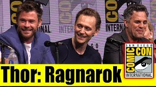 THOR RAGNAROCK | Comic Con 2017 Panel, News, & Highlights