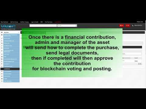 Buying Digital eShares of VNOC/Contrib Asset