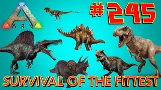 [245] Most Insane Mass Tame Yet!!! (ARK Survival Of The Fittest SOTF)