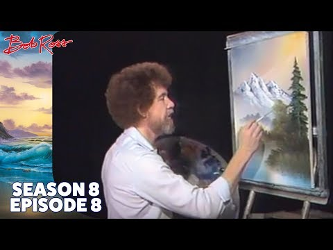Bob Ross - Foot of the Mountain (Season 8 Episode 8)