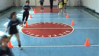 Тренировка волейбол Войнич В.И. СОШ № 15 часть2