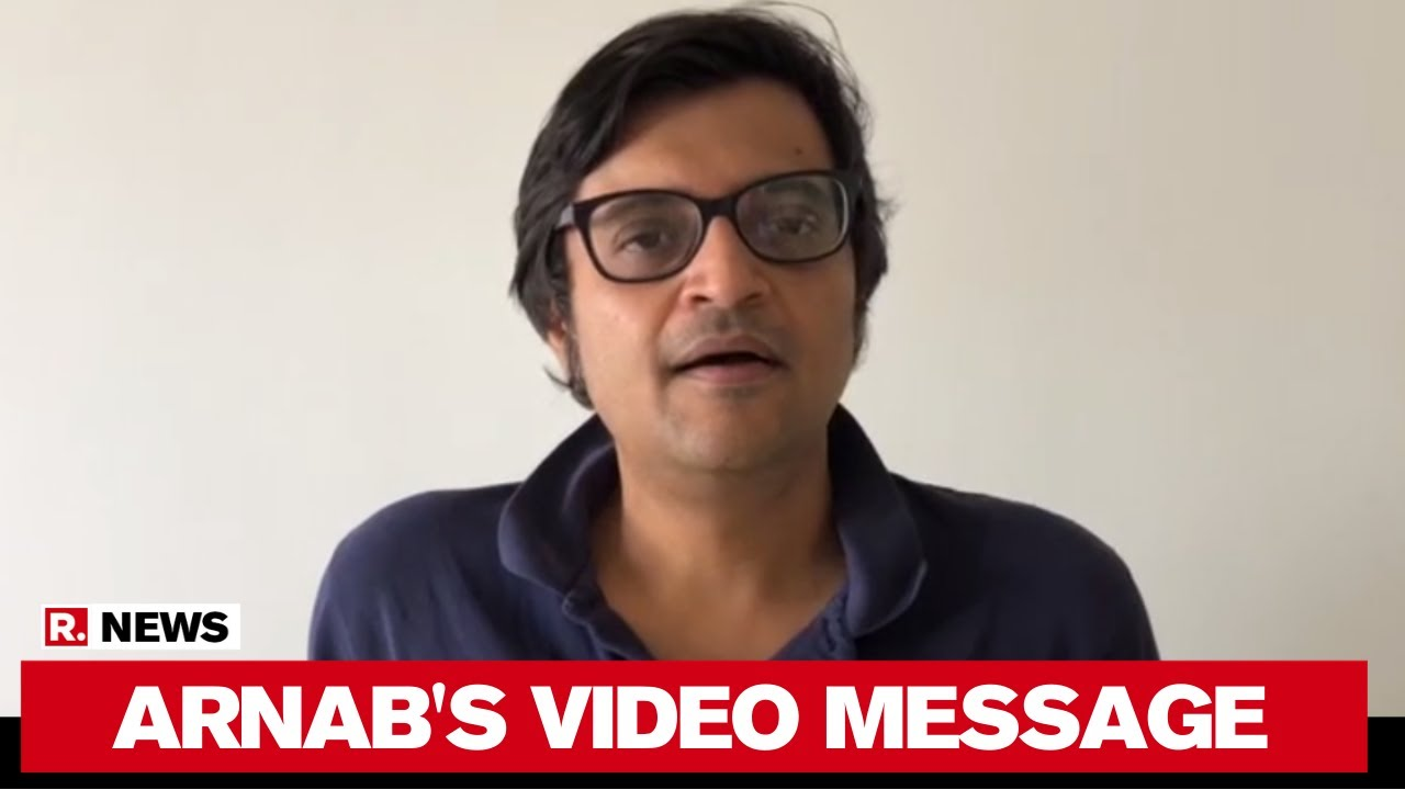 Arnab Goswami's Video Message As SC Upholds His Right To Report