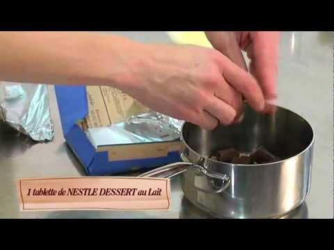 Gateau Marbre Au Chocolat Nestle Dessert Lait Youtube
