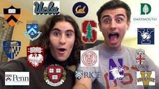 COLLEGE DECISIONS REACTIONS 2019 - I GOT INTO MY DREAM SCHOOL!!!