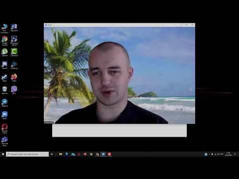 Как включить виртуальный фон в программе ZOOM для видеоконференции