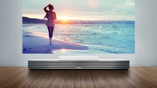 Greatest TV in the World - Sony 4K Ultra Short Throw Projector