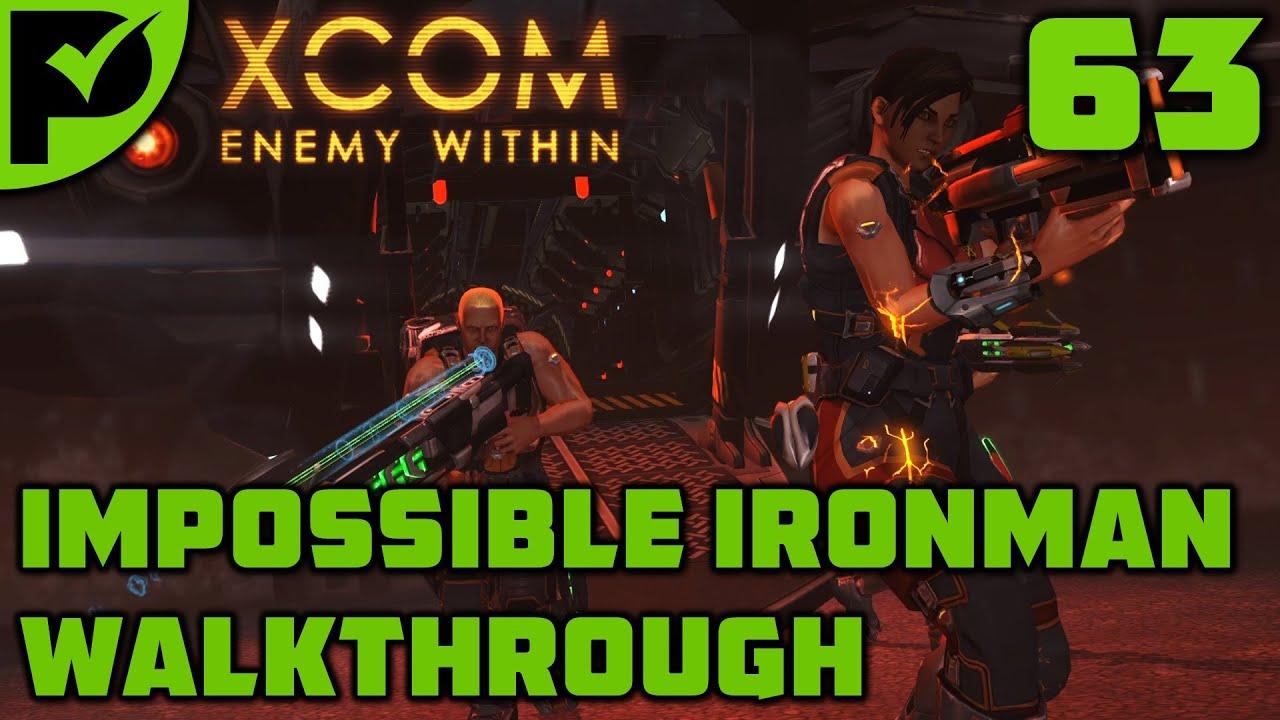 Guess who's back? - XCOM Enemy Within Walkthrough Ep. 63 [XCOM Enemy Within Impossible Ironman]
