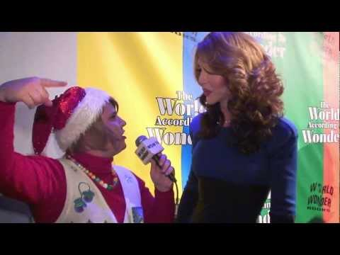 Ep. 231 - Damiana at the World of Wonder 2012 Holiday Party