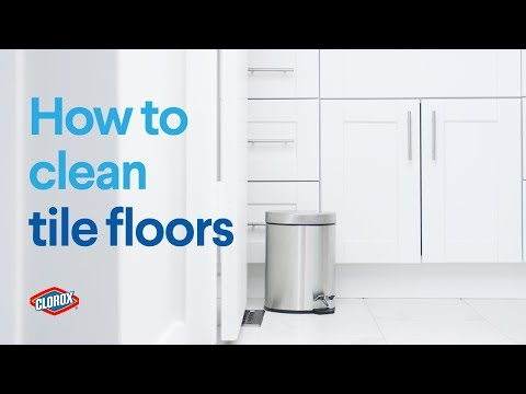 Clorox® How-To : Clean Tile Floors