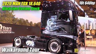 2020 Man 640 Black Lion TGX 18.640 Truck - Exterior Interior Walkaround - 2019 Nufam Karlsruhe