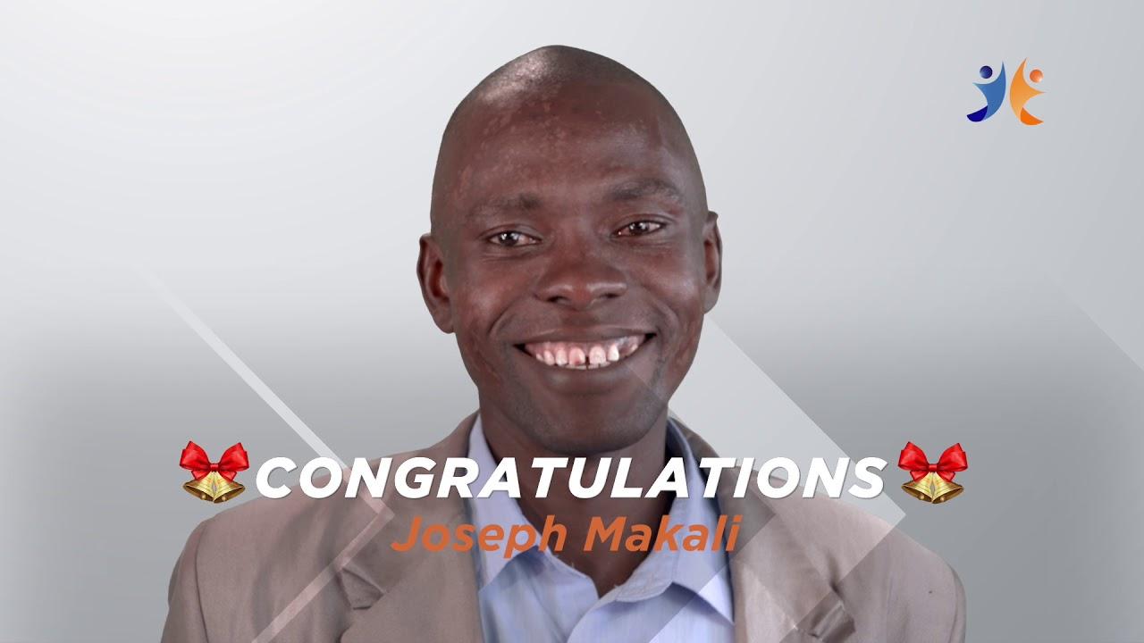 shabiki Jackpot Mbao 033 Winner - Joseph Makali