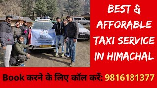 Book Best & Most Affordable Taxi Service in Mandi, Himachal Pradesh | Pradeep Taxi Service