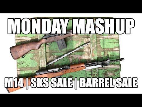 The Monday Mashup: SKS Sale + Barrel Sale + M14 Detailed