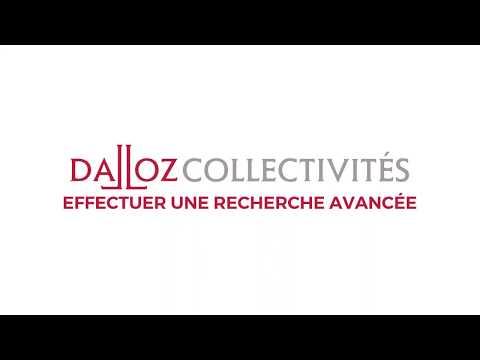 Vidéo Explainer / E-learning - Dalloz Collectivités