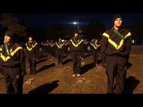 Bright And Early PT At Fort Jackson