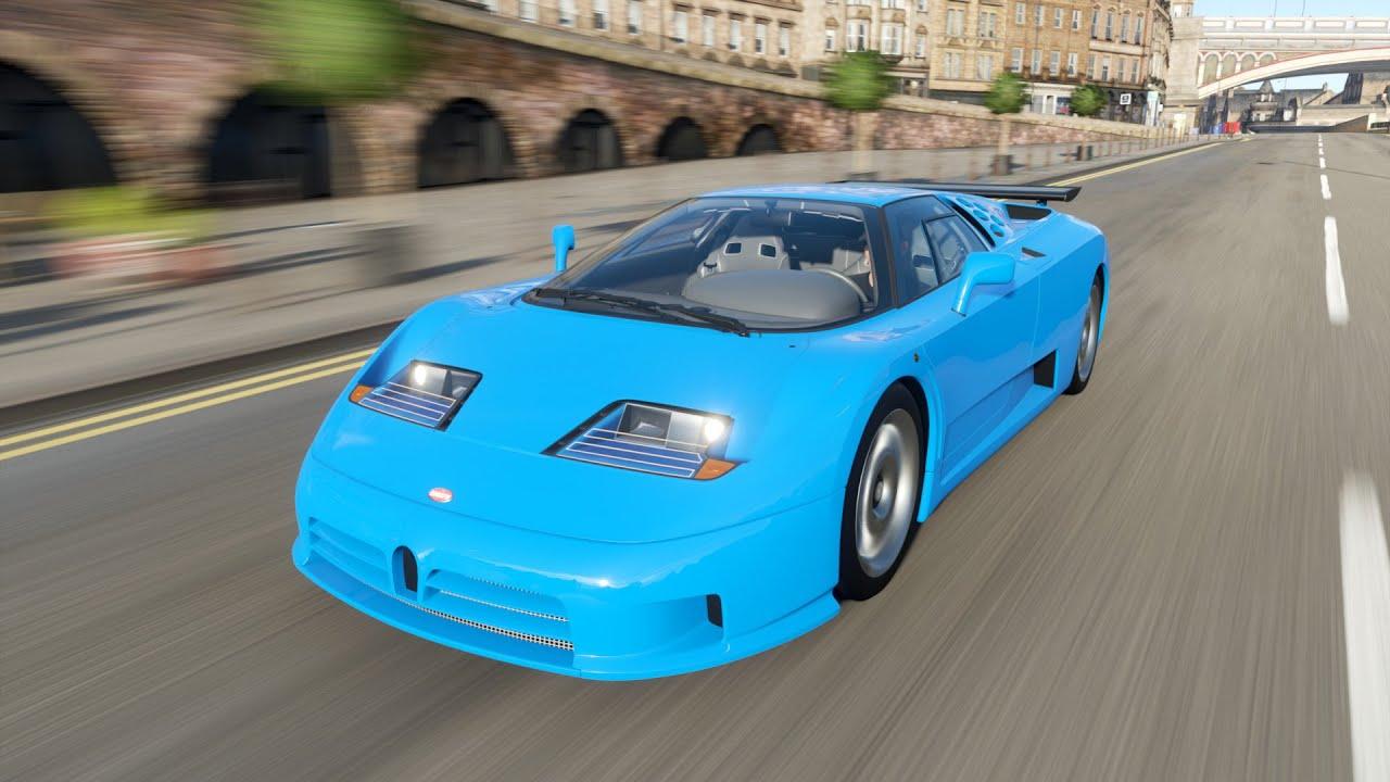 Forza Horizon 4 - 1992 Bugatti EB110 Supersport - YouTube