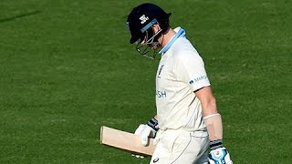 Smith dismissed for a duck in return to Shield cricket