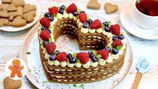 Торт СЕРДЦЕ Универсальный Торт на Любой Праздник