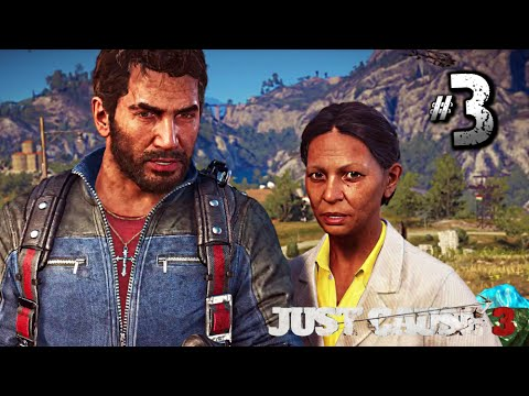 Just Cause 3 Walkthrough Gameplay Part 3 · 'Manaea' Settlement Liberation (PS4 | PC | Xbox One)