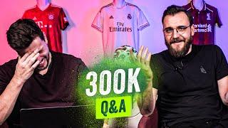 Bier, erste Fußballspiele und abgebrochene Studien! 300k Special Q&A