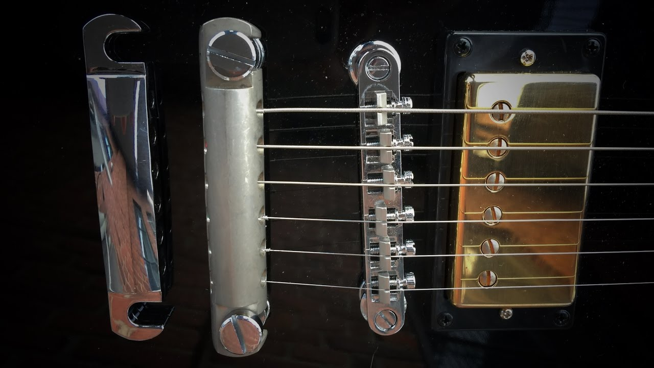 Does the Tailpiece Stop Bar influence Electric Guitar Tone? Aluminum Vs  Standard Zinc
