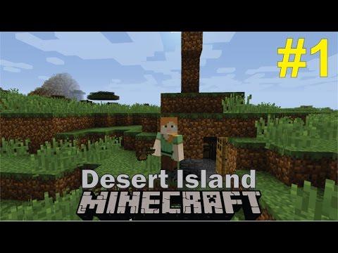 Minecraft Survival | Desert Island #1