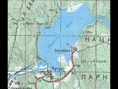 Качество жизни - 13.11.17 Карта Башкирии с древними топонимами