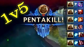 Epic Illaoi 1v5 Pentakill Compilations - Best illaoi Plays | League of Legends