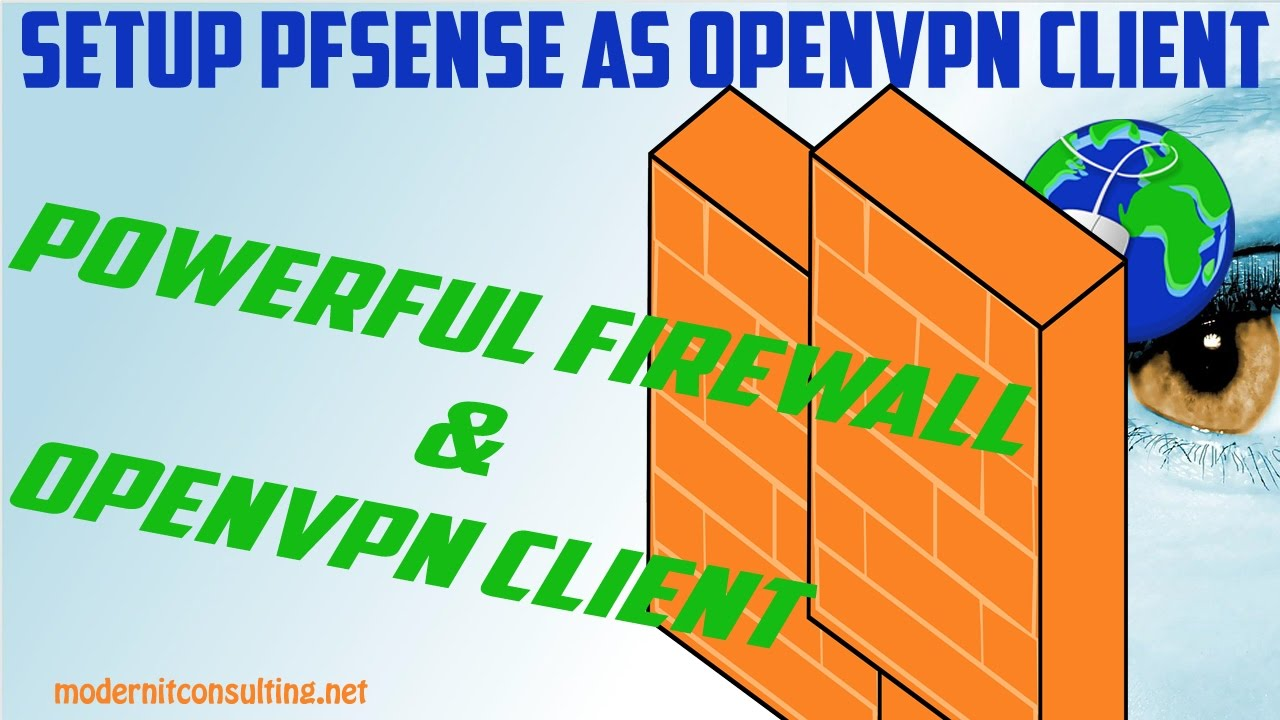 How To Setup pfSense as VPN Client for OpenVPN Server by Modern IT  Consulting