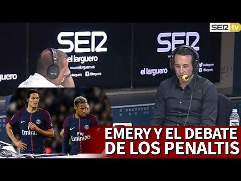 Emery explica cómo gestionó la polémica de los penaltis Cavani-Neymar | Diario AS