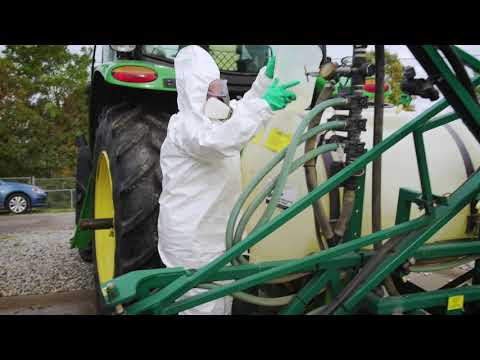 Pesticide Safety On The Farm - Handling Pesticides