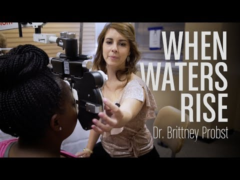 When Waters Rise: Dr. Brittney Probst Helps Her Community After Hurricane Harvey