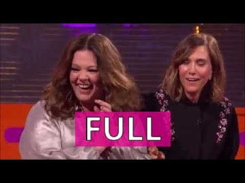 The Graham Norton Show FULL part 4/4 Melissa McCarthy, Kristen Wiig, Charlie Sheen, et al.