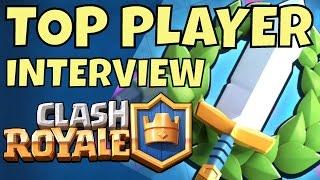 Clash Royale's BEST TOURNAMENT player CMcHUGH Interview!