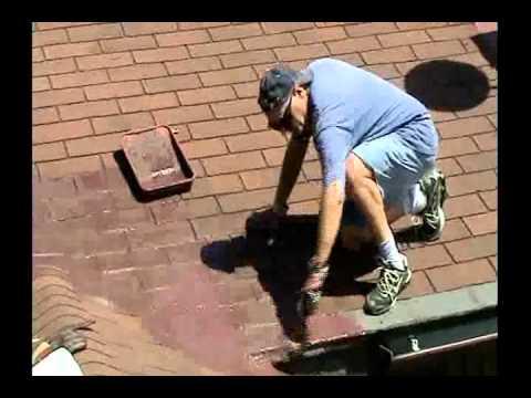 Protective Roof Coating Sealer Paint and Roof Leak Repair